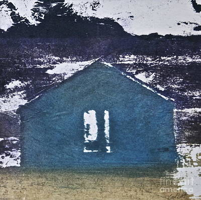 Blue House Art Print by Deborah Talbot - Kostisin