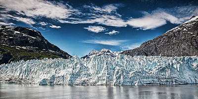 Photograph - Blue Ice by Bill Howard