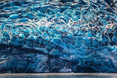 Blue Ice Art Print by Matt Harvey