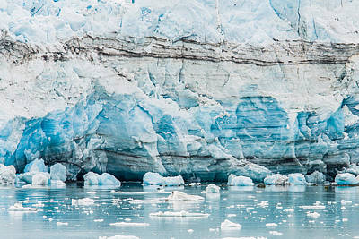 Photograph - Blue Ice by Melinda Ledsome