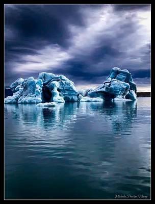 Photograph - Blue Ice by Michaela Preston