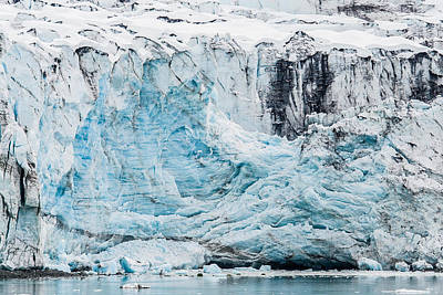 Photograph - Blue Ice Shelf by Melinda Ledsome
