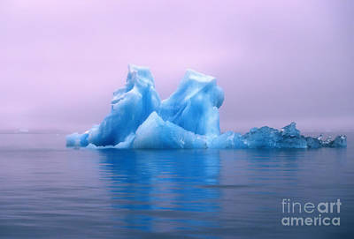 Photograph - Blue Ice by Soren Egeberg