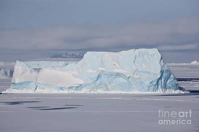 Photograph - Blue Iceberg by Greg Dimijian