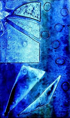 Blue   II Art Print by John  Nolan