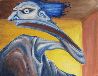 Blue - Internal Art Print by Jeffrey Oleniacz