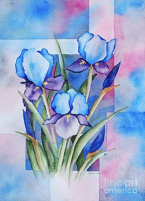 Painting - Blue Iris by Melanie Pruitt