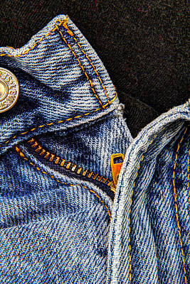 Art Print featuring the photograph Blue Jeans by Wade Brooks