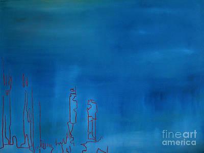 Painting - Blue by Jeff Barrett