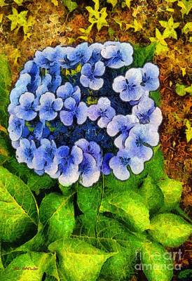 Soil Digital Art - Blue Lace And Stars by RC deWinter