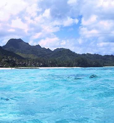 Photograph - Blue Lagoon Cook Islands by Amanda Holmes Tzafrir