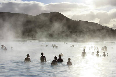 Photograph - Blue Lagoon Geothermal Spa by Thomas Janisch