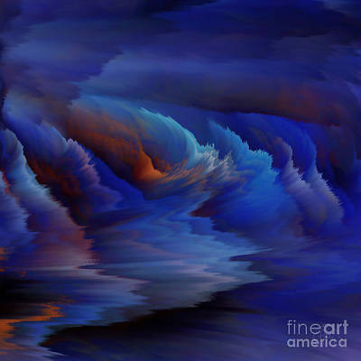 Digital Art - Blue Lagoon by Patricia Kay