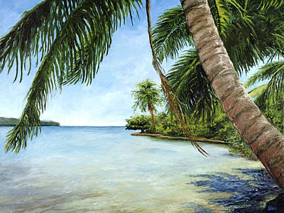 Haleiwa Painting - Blue Lagoon by Stacy Vosberg