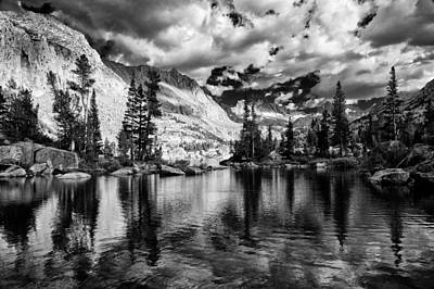 Photograph - Blue Lake by Cat Connor