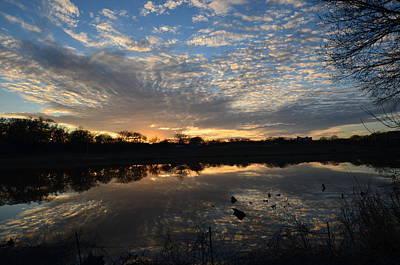 Photograph - Blue Lake Sunset I by Ricardo J Ruiz de Porras
