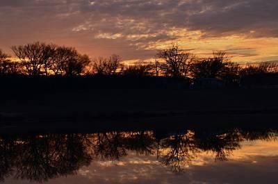 Photograph - Blue Lake Sunset II by Ricardo J Ruiz de Porras
