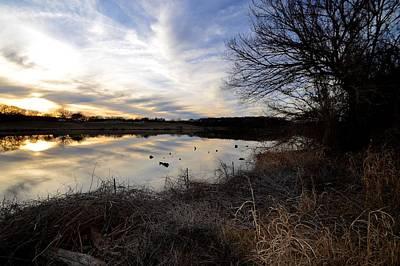 Photograph - Blue Lake Sunset by Ricardo J Ruiz de Porras