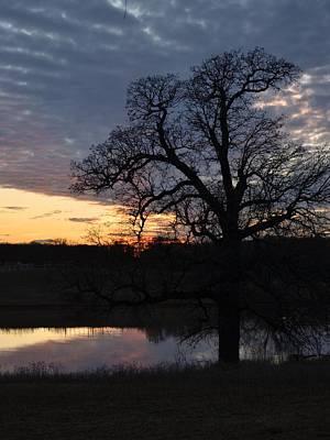 Photograph - Blue Lake Sunset Vii by Ricardo J Ruiz de Porras