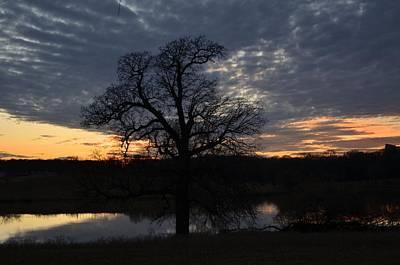 Photograph - Blue Lake Sunset Viii by Ricardo J Ruiz de Porras