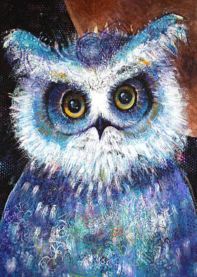 Painting - Blue by Laurel Bahe