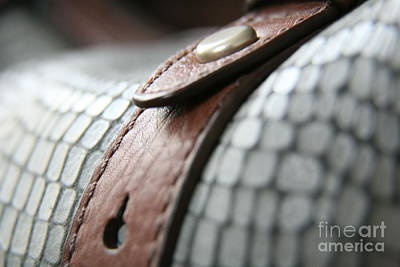 Photograph - Blue Leather by Lynn England