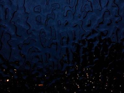 Photograph - Blue Light by Chris Cloud