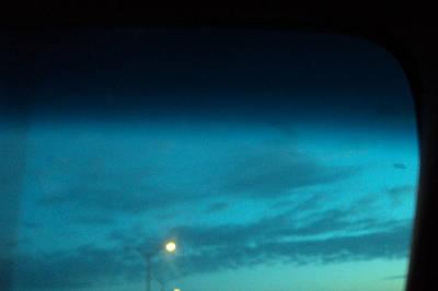 Photograph - Blue Light by Cynthia Harvey
