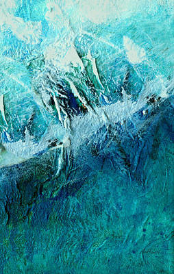 Painting - Blue Longing - Abstract Art by Ann Powell