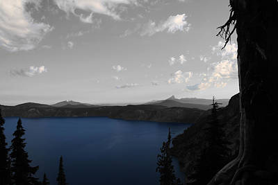 Photograph - Blue Lookout by Dylan Punke