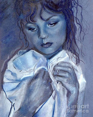 Pastel - Blue Love by Robin Maria Pedrero