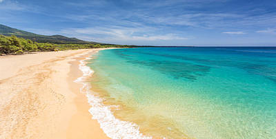 Photograph - Blue Makena Beach Maui by Pierre Leclerc Photography