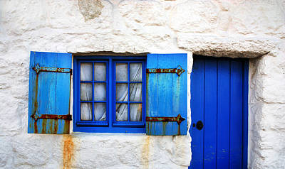 Blue Doors Photograph - Blue by Mark Rogan
