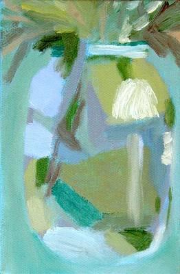 Blue Mason Jar Original