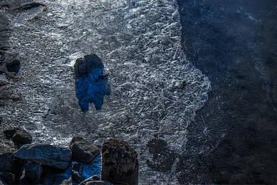 Blue Matrix On The Kuskokwim Original