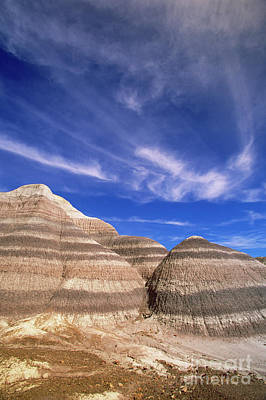 Petrified Forest Arizona Photograph - Blue Mesa by Yva Momatiuk John Eastcott
