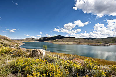 Photograph - Blue Mesa Reservoir by Cheryl Davis