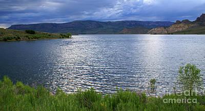 Photograph - Blue Mesa Reservoir by Kelly Black