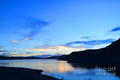Photograph - Blue Mesa Sunset by Kate Avery