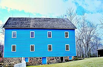 Photograph - Blue Mill Historic Walnford Mill  by Rick Todaro
