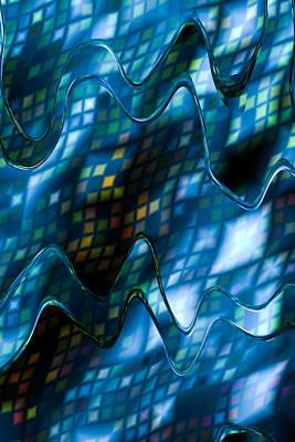 Fuzzy Digital Art - Blue Mist by Hakon Soreide