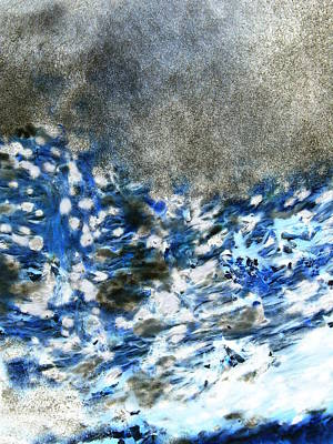 Photograph - Blue Mold by Erich Grant