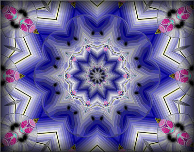Digital Art - Blue Monday by Michael Damiani