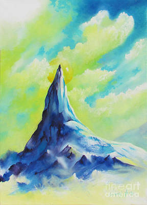 Painting - Blue Montain by Alexa Szlavics
