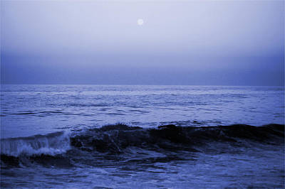 Photograph - Blue Moon by Cara Moulds