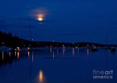 Photograph - Blue Moon by Chuck Flewelling