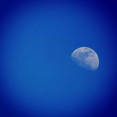 Elvis Photograph - Blue #moon Dedicated To #elvis. A Ah by Celine Biz