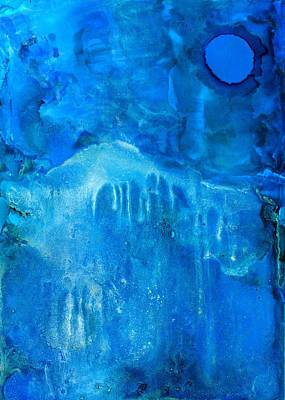 Painting - Blue Moon Dream by Priya Ghose