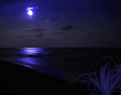 Photograph - Blue Moon by Joseph Tese