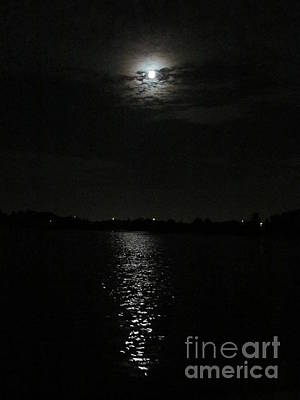 Photograph - Blue Moon Over Orlando by Zoe Vega Questell